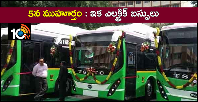 Electric Buses In Hyderabad