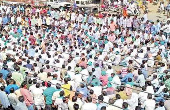 The farmers' concern in Nizamabad