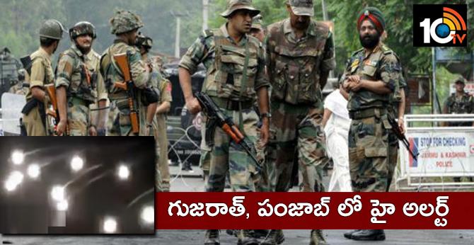 Gujarat, Punjab On High Alert