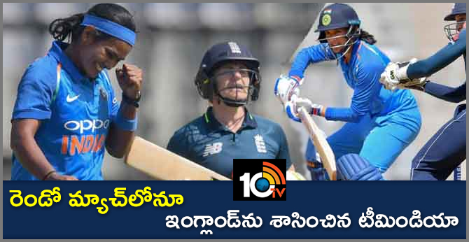 INDIA WOMEN WON BY 7 WICKETS ON ENGLAND WOMEN