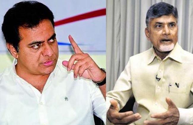 KTR Fires On CM Chandrababu