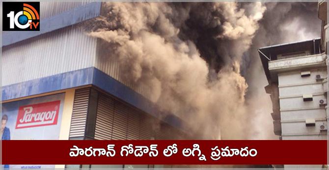 Major fire breaks out at footwear godown in Kochi