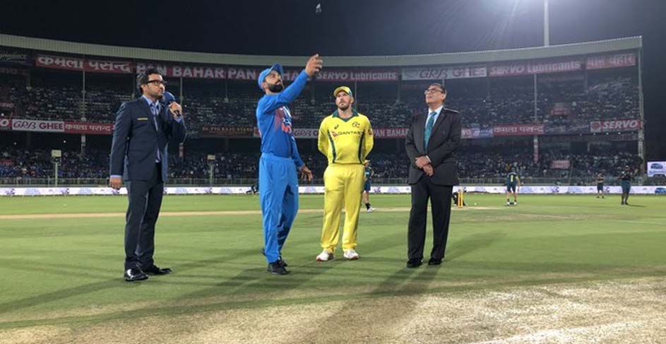 INDIA WON TOSS IN VIZAG