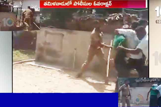 Tamil Nadu Nagapattinam Inspector Attack On Charles