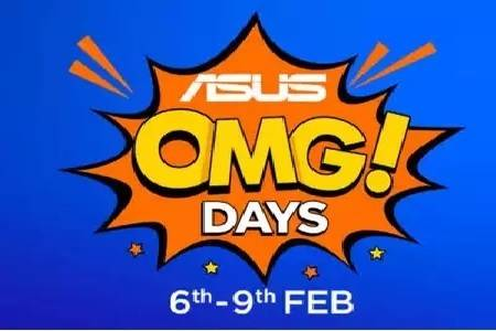 Asus OMG Days Sale On Flipkart