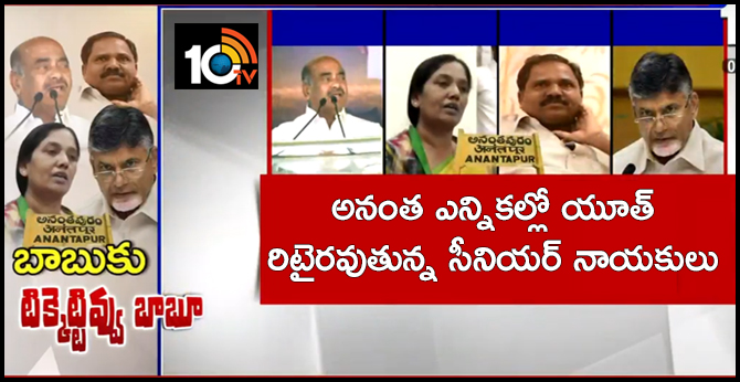 Youth Leaders In Anantha Elections :Seniors may be Retirment