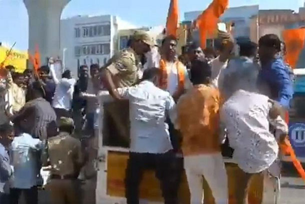 60 Bajrang Dal Members Arrest