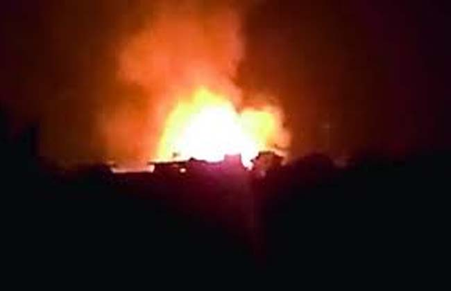 Fire accident in the Charlapalli