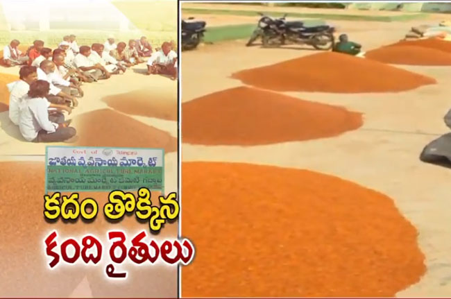 Farmers concerned in market yards