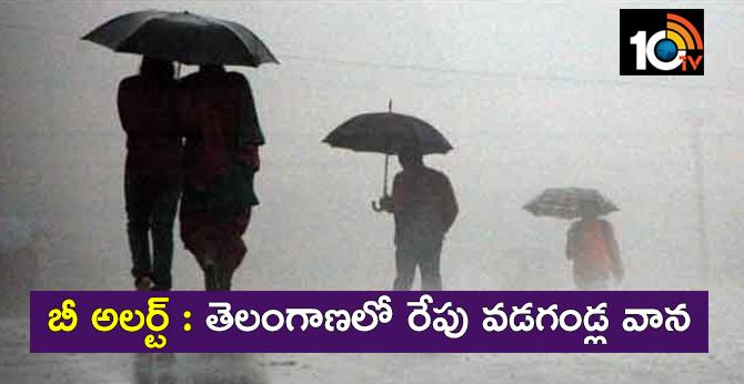 rain alert telangana