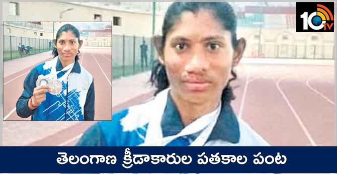 telangana athlets deepthi, ankith won silver