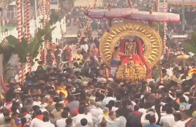 Rathasaptham Celebrations in Tirumala