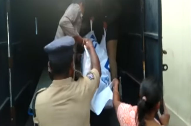 women murder by husband in hyderabad