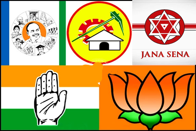 political parties Mind game in andrapradesh
