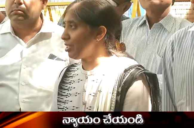 sunitha reddy complaints to cec