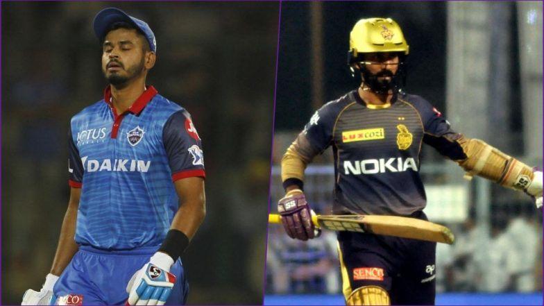 KKRvsDC:delhi and kolkatta match tied