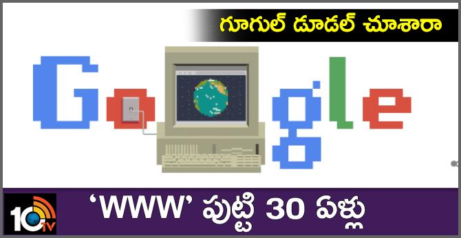 Google Doodle Celebrates World Wide Web's 30th Birthday