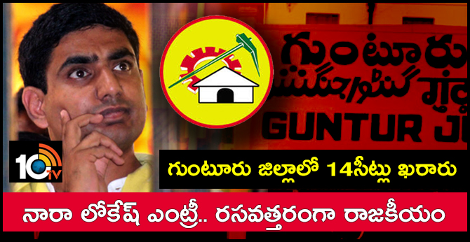 Gunturu Didtrict First List