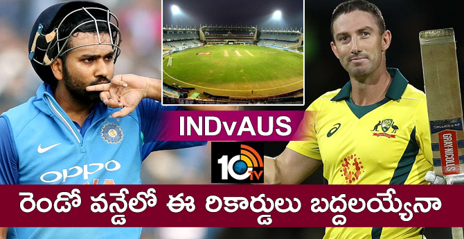 INDvAUS: records before 2nd odi