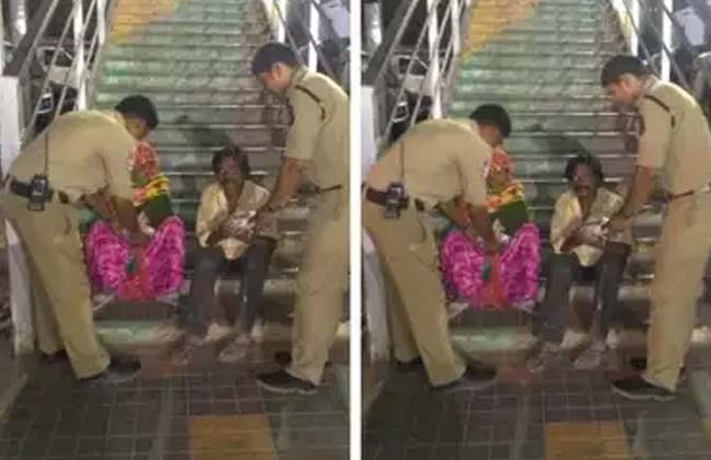 Son of an unknown old age couple kachiguda police constables help