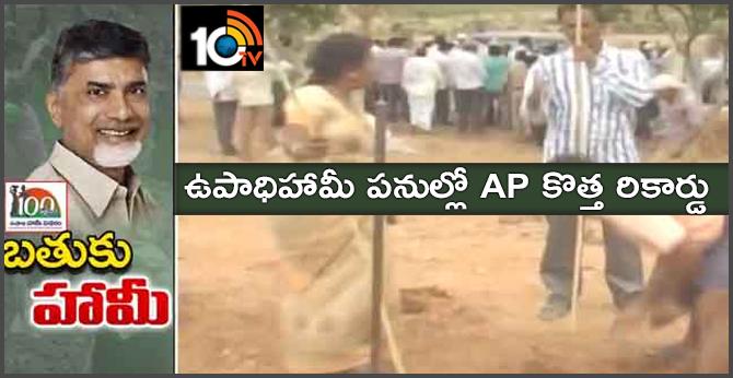 MGNREGA Andhrapradesh State Record