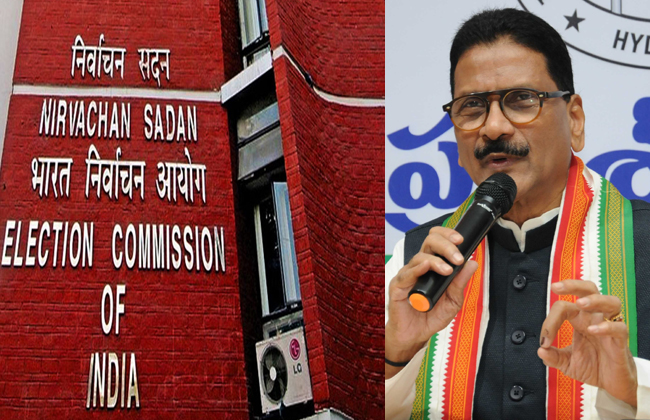 Marri Shashidhar Reddy file a complaint to election commission on KCR