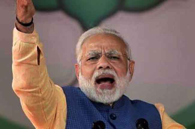 Prime Minister Narendra Modi Election Marathon Rally