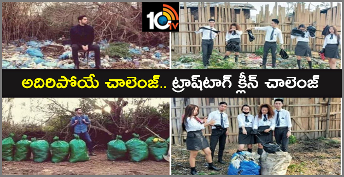 People are Cleaning Up Streets to Complete the Viral Trashtag Challenge