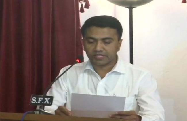 Pramod Sawant is the Chief Minister of Goa
