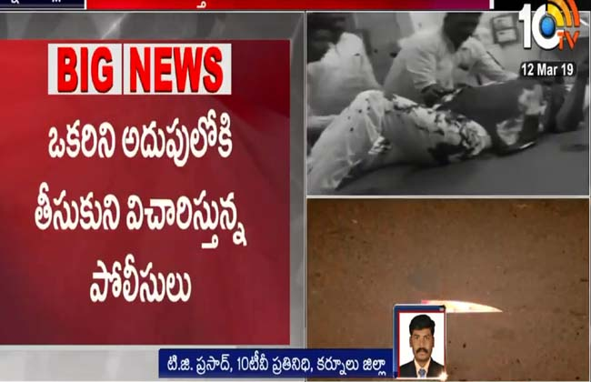 Srisailam temple is a murder attempt on VRO Srinivas