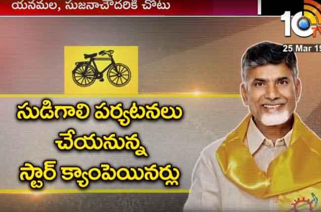 TDP Leaders And Film Stars Campaign In Andhra Pradesh