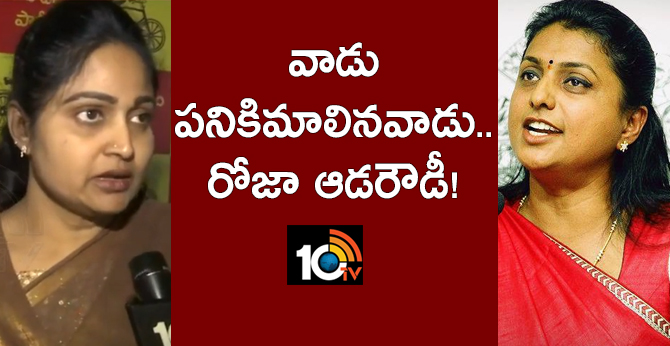Tdp Leader Divyavani Shocking Comments On Posani and Roja