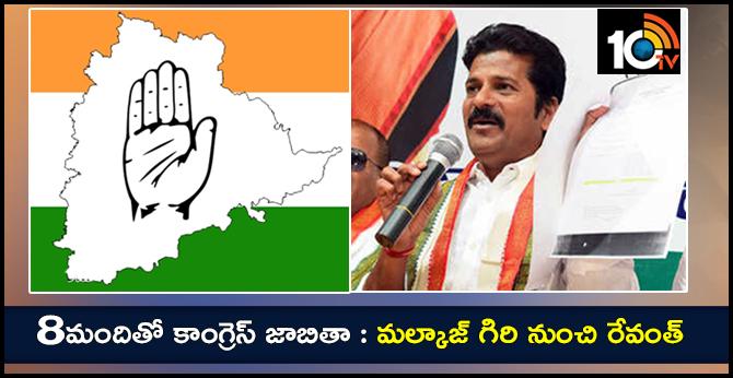 Congress High Command Announces Telangana Congress MP Candidates