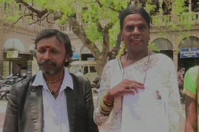 HIjra filed her nomination for Loksabha Elections, in Madurai
