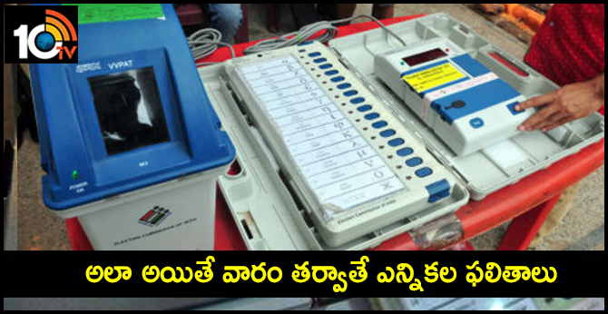 Present method of counting VVPAT slips most suitable: EC to Supreme Court