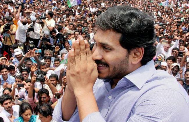 jagan campaign in Costal Andhra