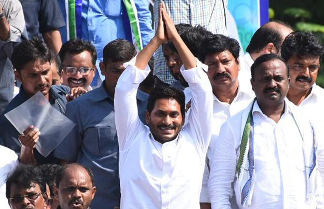 ys jagan election campaign in 2 districts