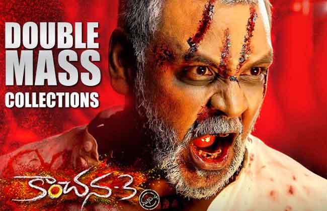 1st Weekend Kanchana 3 Collections Across Telugu States-10TV
