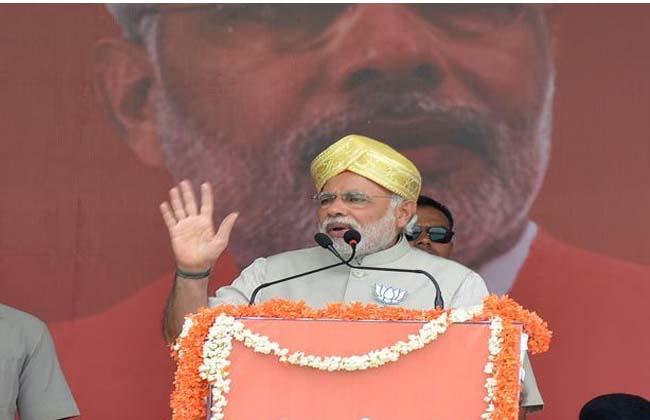 PM Narendra Modi tweeted on the second tour of Andhra Pradesh
