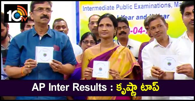 Andhra Pradesh Inter Results 2019