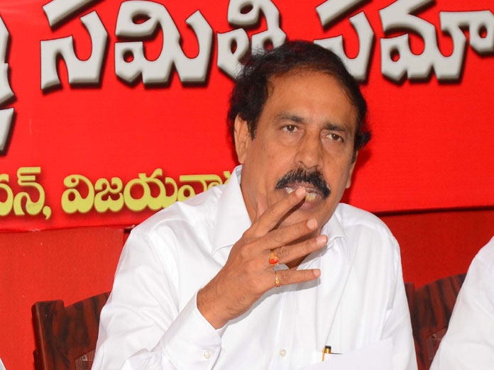 Cpi Ramakrishna Complains Ec Against Mp JC