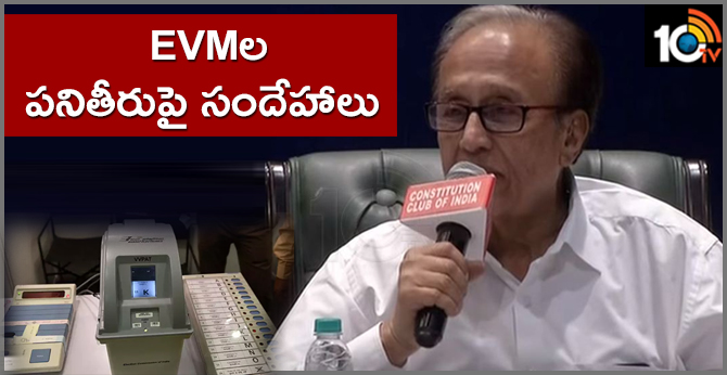Doubts about performance of EVMs says Suravaram Sudhakar Reddy