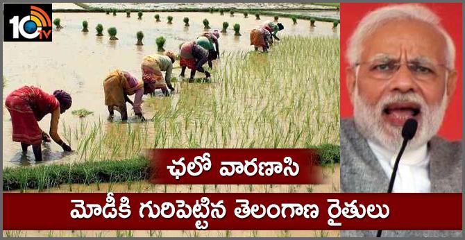 Group of Telangana farmers to challenge Modi in Varanasi