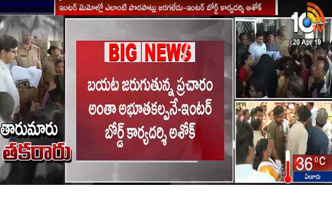 Telangana Lecturers Association Demand Suspended Inter Board Secretary