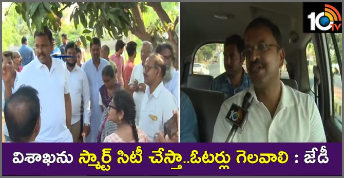 JD Laxminarayana Will Develop Vishaka Town As A Smart City
