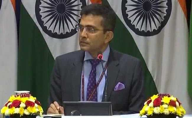 MEA in response to queries on statement by Pak Foreign Min