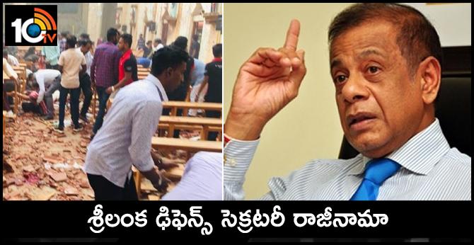 Sri Lanka's Defence Secretary Quits Following Suicide Bomb Attacks