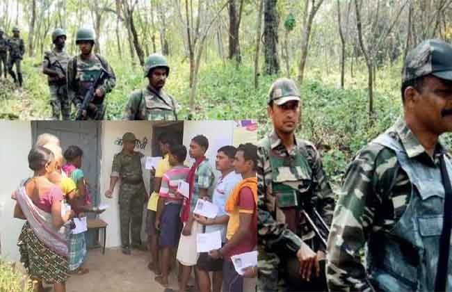 peaceful polling in chhattisgarh Bastar constituency