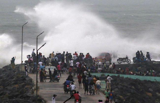HEAVY RAINS in May 2nd at Andhra Pradesh