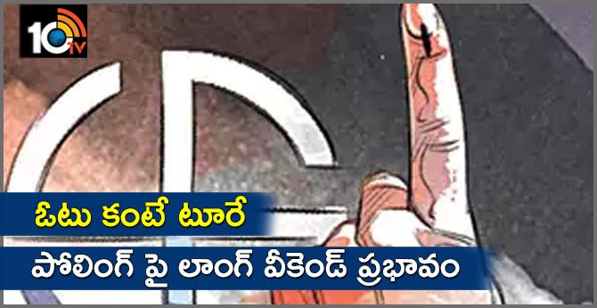 telangana lok sabha elections 2019 Fear For Holidays